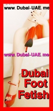 Dubai foot fetish