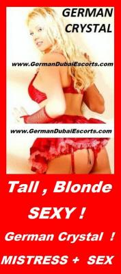 German Tall blonde - Sexy Crystal